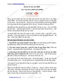 Review thi Test vào HSBC