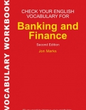 Check Your Vocabulary for Finance and Banking