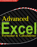 Advanced Excel - Formulae and Calculations by George Walter